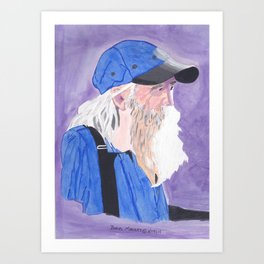 A Tennessee Farmer, My Silent Hero Art Print