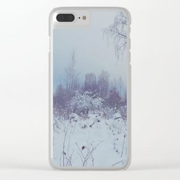 magic winterland Clear iPhone Case