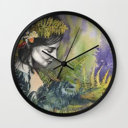Ferns Wall Clock