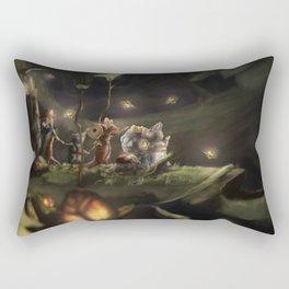 Mice Journey Rectangular Pillow