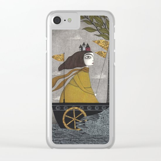 Day on the River Clear iPhone Case