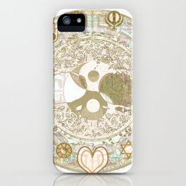 Let Love Be the Foundation iPhone Case