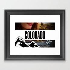 Colorado Bound Framed Art Print