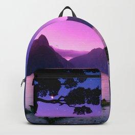 Cool Evening Landscape  Backpack