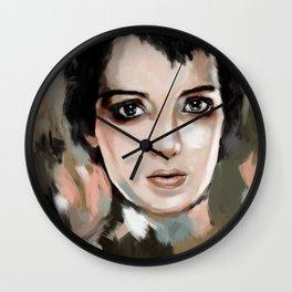 Winona Ryder Wall Clock