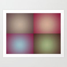 Rectangles Art Print