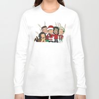 liam payne Long Sleeve T-shirts featuring It's Christmas, Liam Payne by Ashley R. Guillory
