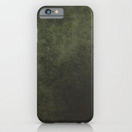 Old dark green iPhone Case