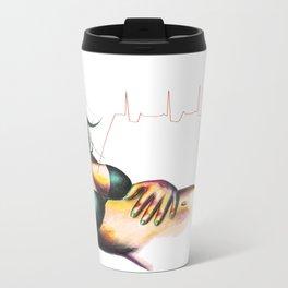 Arrhythmia Metal Travel Mug