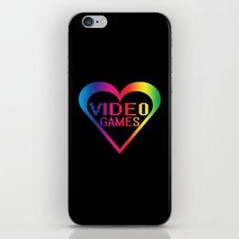 love video games iPhone Skin