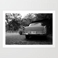 The Car Art Print