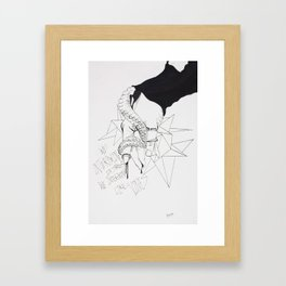 Lovely Vines Framed Art Print
