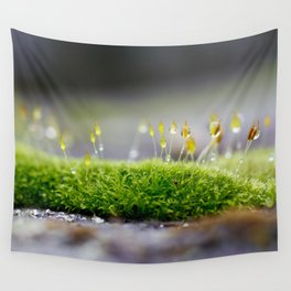 Mossy Moss Wall Tapestry