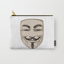 Anonymous mask Carry-All Pouch