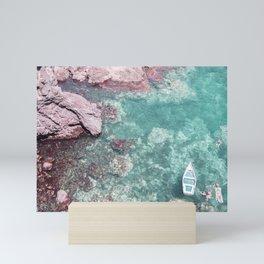 Sicilian cliff Mini Art Print