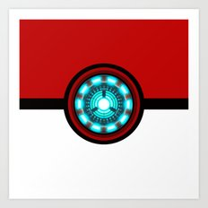 Pokeball Reactor Art Print