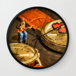 Playing For Time Wall Clock