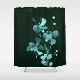 Organic Impressions 334zg by Kathy Morton Stanion Shower Curtain