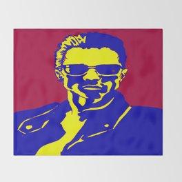 Arnold Schwarzenegger Terminator 2  Throw Blanket