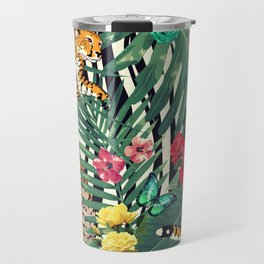 tropical wild  Travel Mug