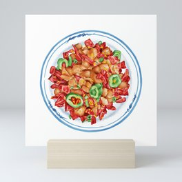Spicy Chicken   辣子鸡 Mini Art Print
