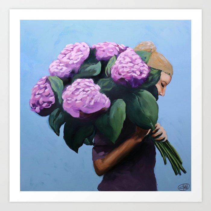 Posy IV / Summer Blooms Kunstdrucke