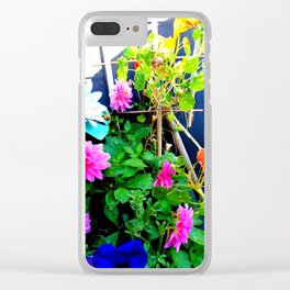 Fall Bloomers 1 Clear iPhone Case
