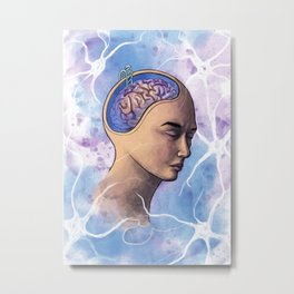 Klein Levin Syndrome Metal Print