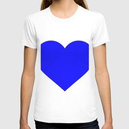 Heart (Blue & White) T-shirt