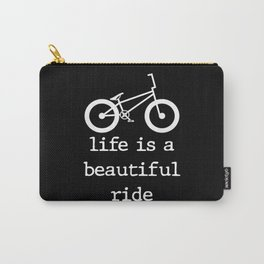Bike Love Cycling BMX Mountain Bike Tour Carry-All Pouch