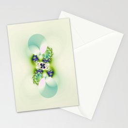 Decorated Infinity Citrus Stationery Cards