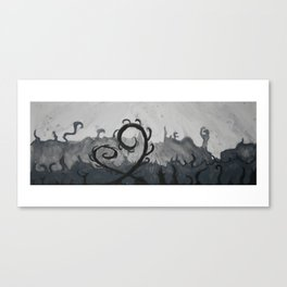 Whirly Wisps Canvas Print