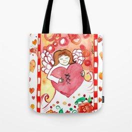 Healed Heart Tote Bag