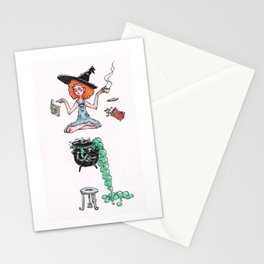 Witchy Multitasking Stationery Cards