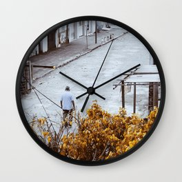 Loneliness. Wall Clock