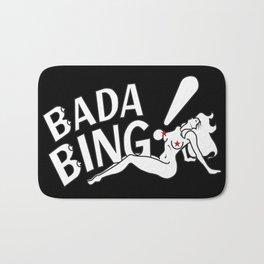 Neon Bada Bing! Bath Mat