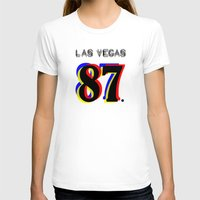 las vegas T-shirts featuring Las Vegas by Joe Alexander