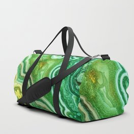 Green Onyx Marble Duffle Bag