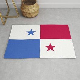 Panama flag emblem Rug