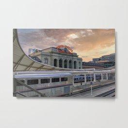 Union Station - Denver, Colorado Part II Metal Print