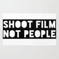 Shoot Film, Not People Rug