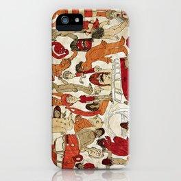 Go Longboard Vintage iPhone Case