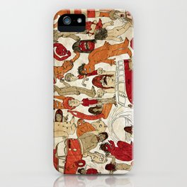 Go Longboard Vintage iPhone Case