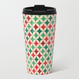 Multicolored Stars Pattern Travel Mug