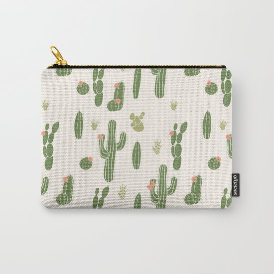 Cactus Cactus Carry-All Pouch