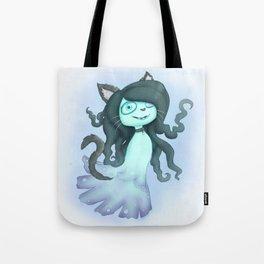 Halloween Whisp Tote Bag