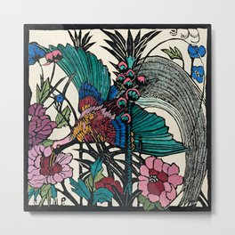 """Bird of Paradise"" by Margaret Preston Metal Print"