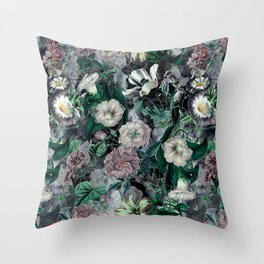 Floral Camouflage VSF016 Throw Pillow