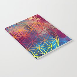 Flower of Life Notebook