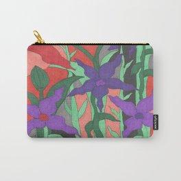 Twilight Sun Garden Floral Art Carry-All Pouch